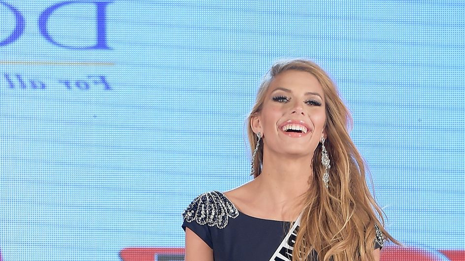 Camille Cerf (Miss France 2015) en shooting sexy pour Miss Univers (Photos)