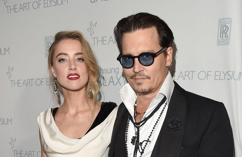 Johnny Depp et Amber Heard de nouveau ensemble sur le tapis rouge