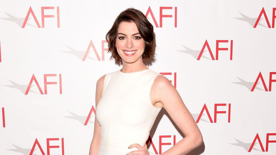 Anne Hathaway est notre look du jour