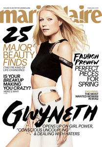 Gwyneth Paltrow pour Marie Claire.