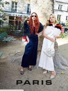 Lizzy et Georgia Jagger pour Sonia Rykiel