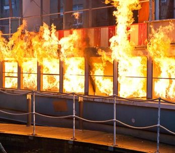 Hollyoaks 20/01 - Dodger's world goes up in flames