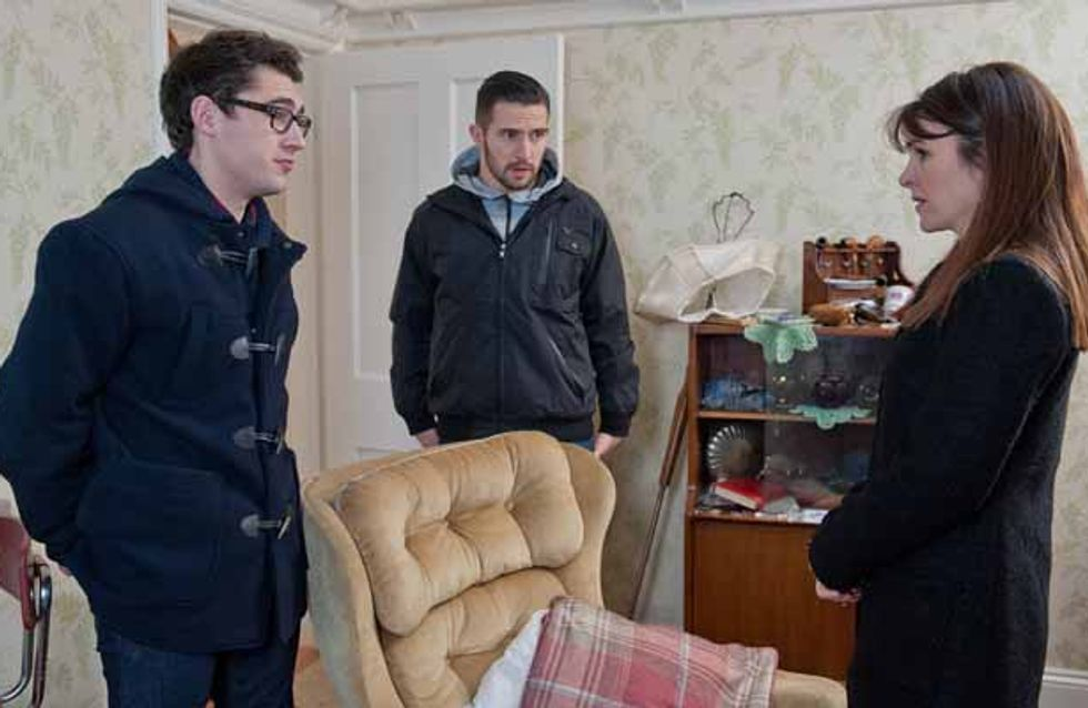 Emmerdale 20/01 – Chas is worried Charity will confess her feelings for Cain