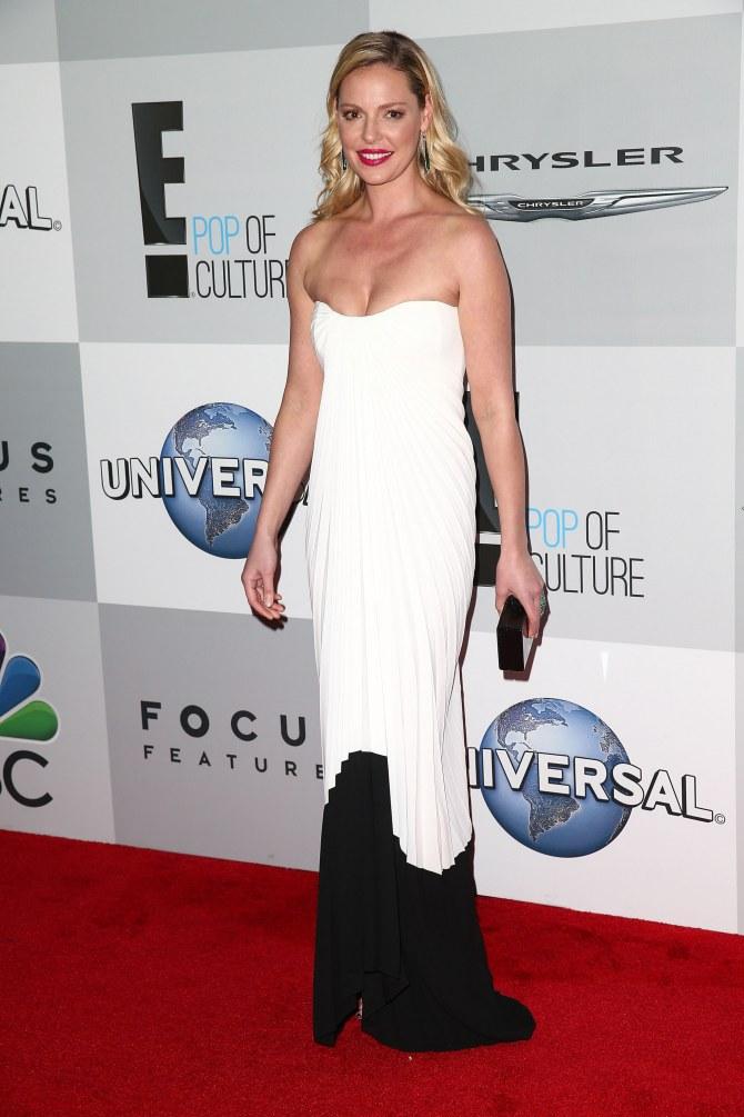 Katherine Heigl à l'after-party NBC Universal des Golden Globes 2015
