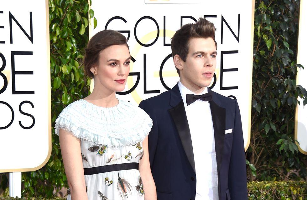 Keira Knightley et ses galères de grossesse aux Golden Globes