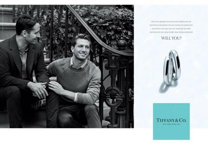 Werbekampagne von Tiffany & Co