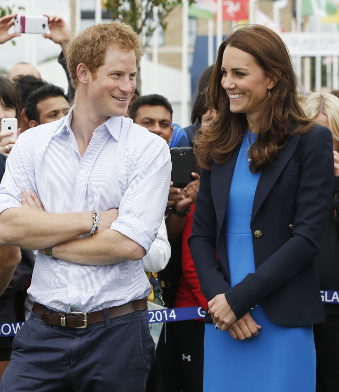 Le prince Harry et Kate Middleton