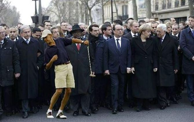 Où est Obama ?