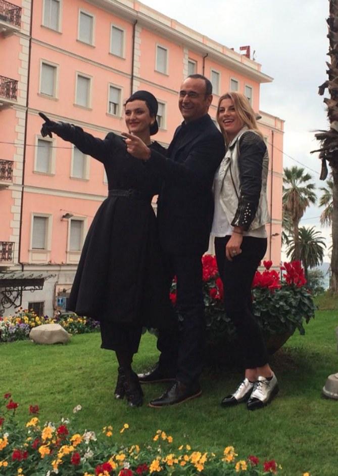 Arisa, Carlo Conti e Emma