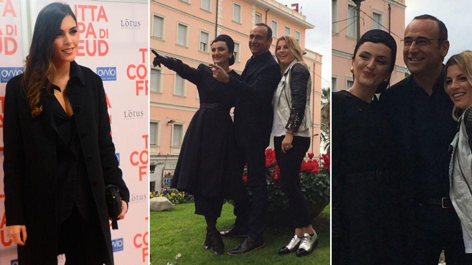 Emma e Arisa vallette di Conti a Sanremo. E spunta anche il nome di Rocìo, fidanzata di Bova