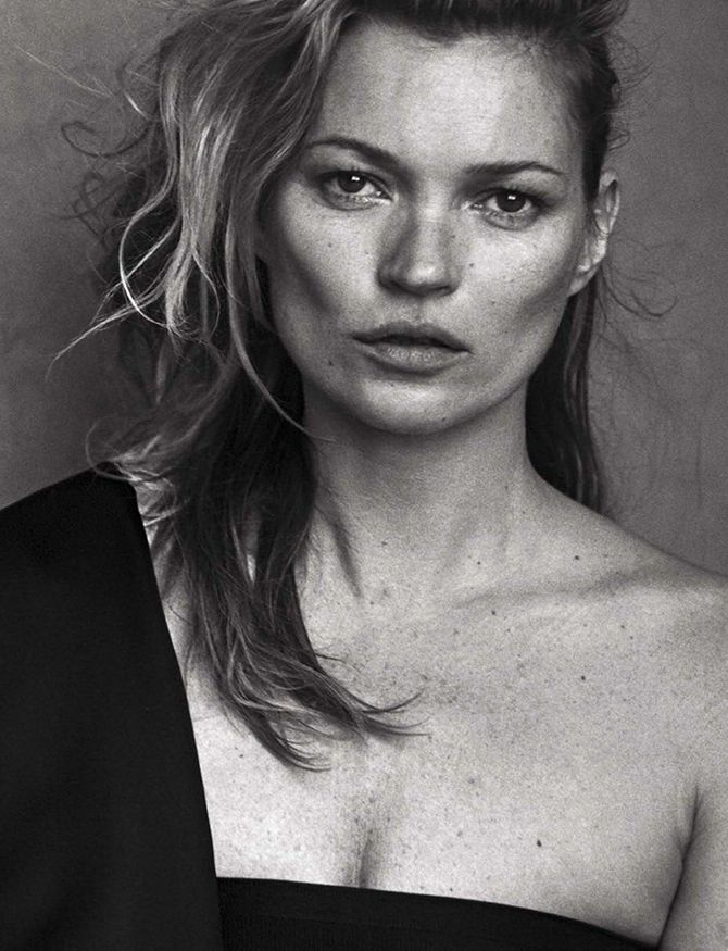 Kate Moss pour Vogue Italie