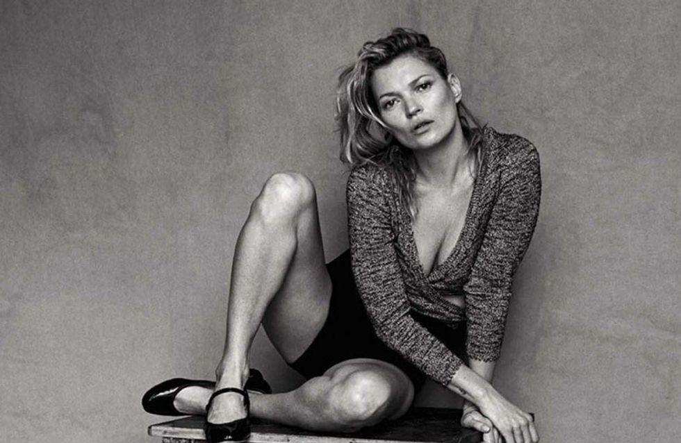 Une séance photo sans Photoshop pour Kate Moss