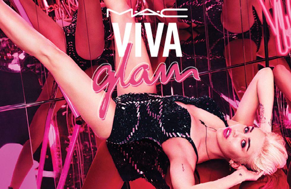 M.A.C et Miley dévoilent la collection Viva Glam 2015