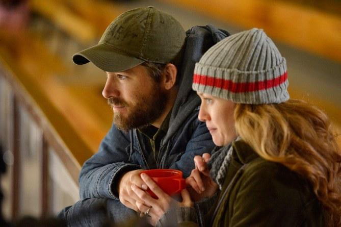 Ryan Reynolds et Mireille Enos