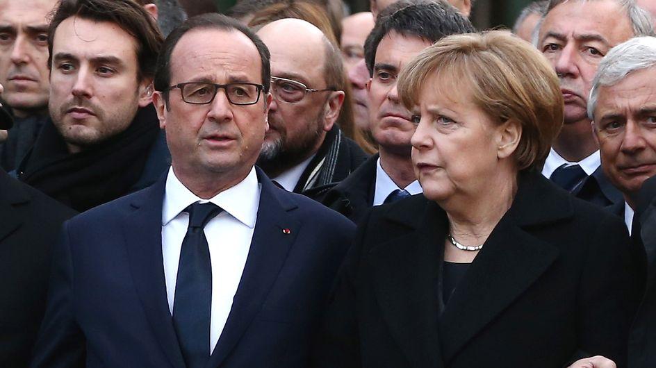 Angela Merkel et Anne Hidalgo effacées de la marche républicaine en Israël