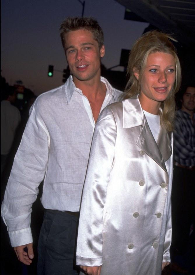 Brad Pitt et Gwyneth Paltrow en 1999.