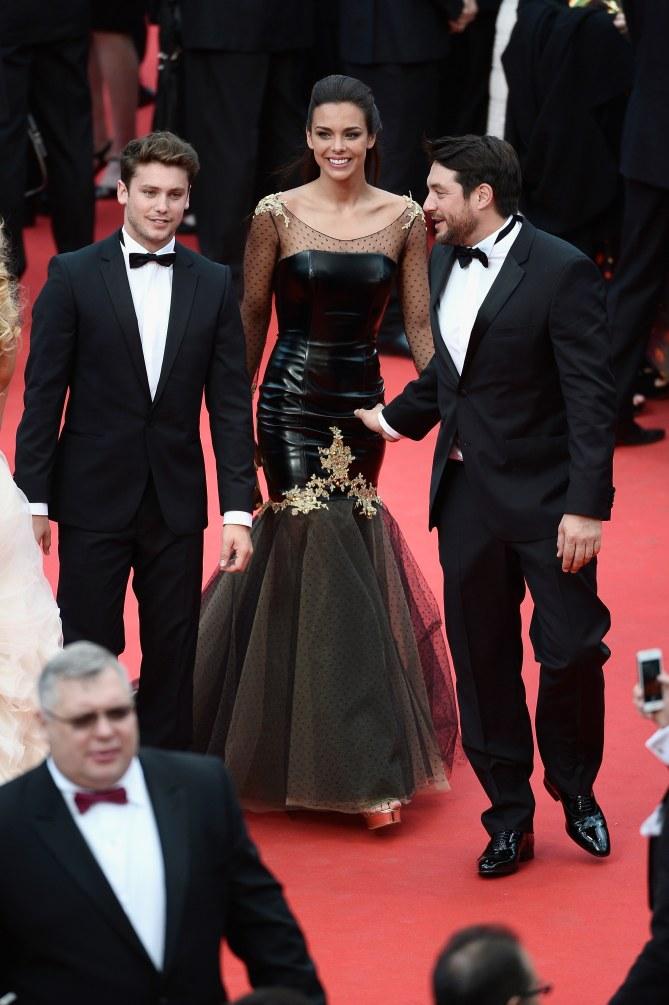 Marine Lorphelin au Festival de Cannes 2014