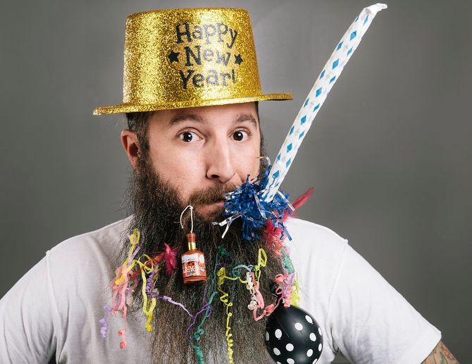 Enero: Barba de Año Nuevo
