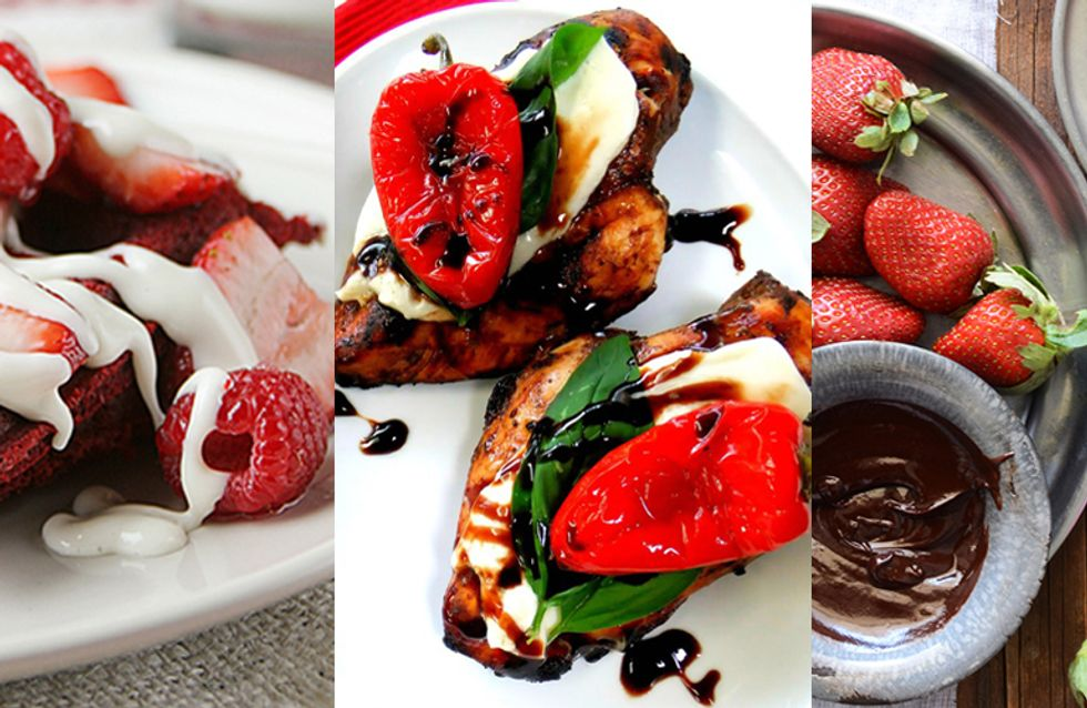 Food For Love! 20 Easy Meal Ideas For Valentines Day