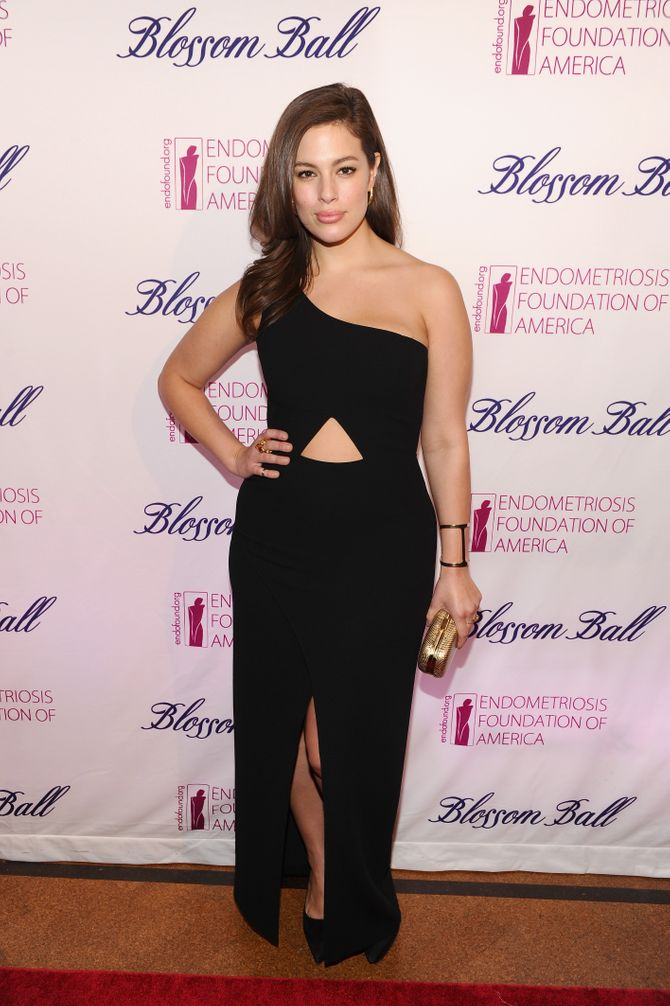Ashley Graham lookée.