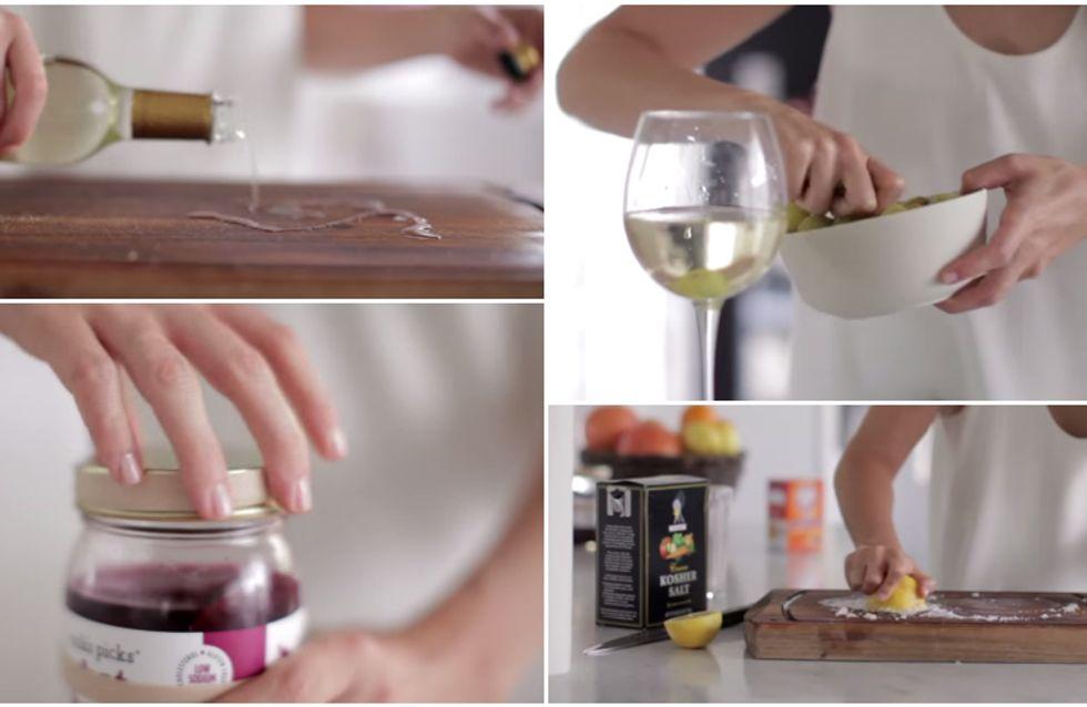 Passione cucina: 7 semplici trucchetti che ti faciliteranno la vita!