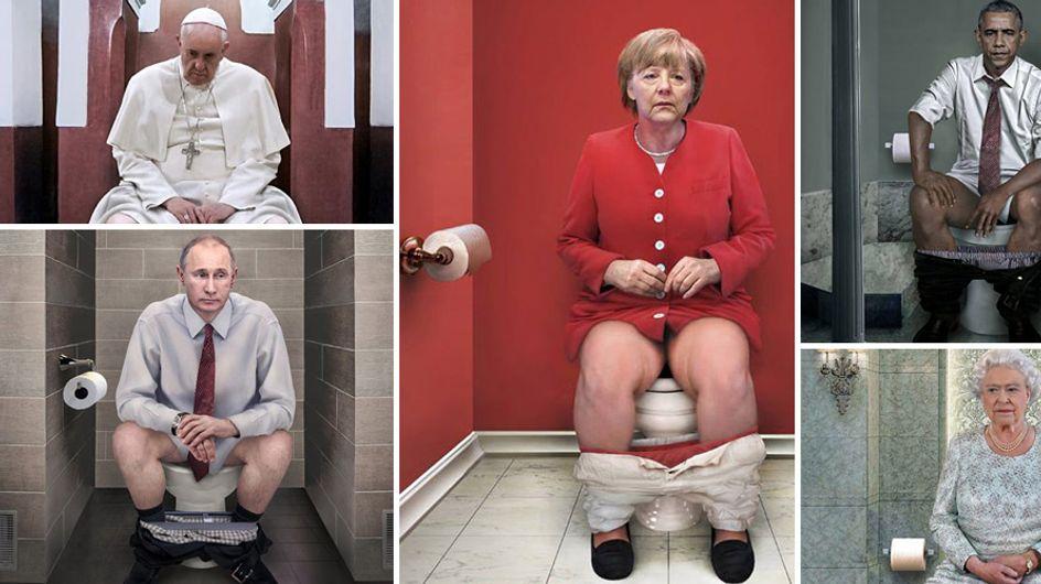 Das tägliche Geschäft: Diese Bilder machen selbst Politiker menschlich