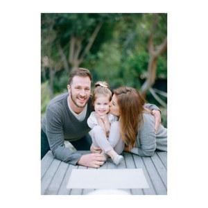 Tiffani Thiessen, sa fille Harper et son mari Brady Smith