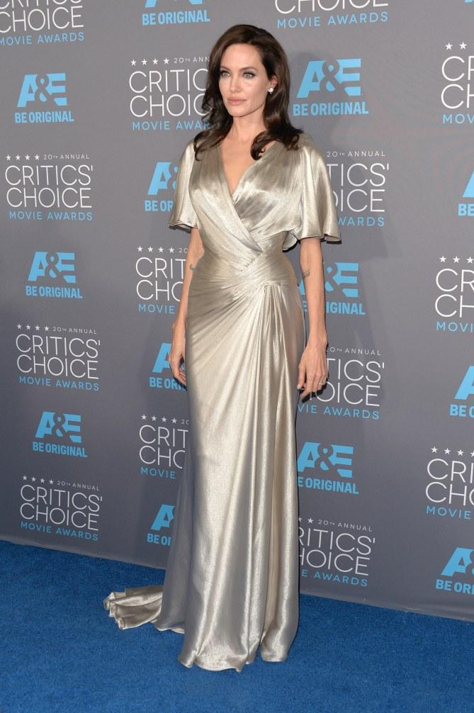 Angelina Jolie aux Critics' Choice Awards 2015