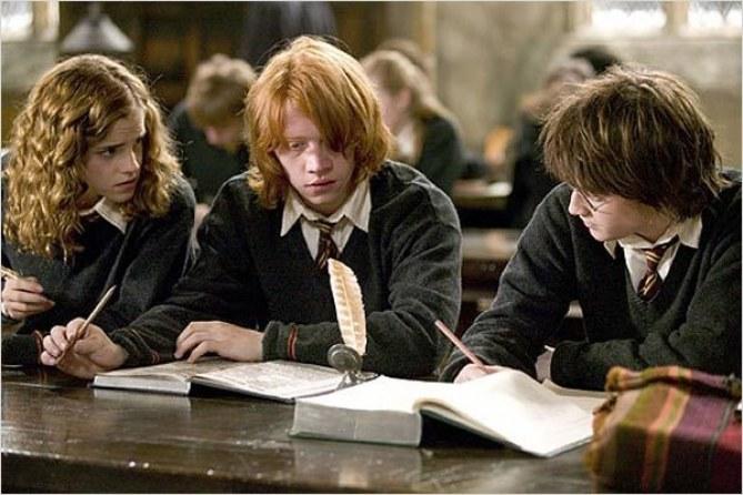 Une scène de Harry Potter.