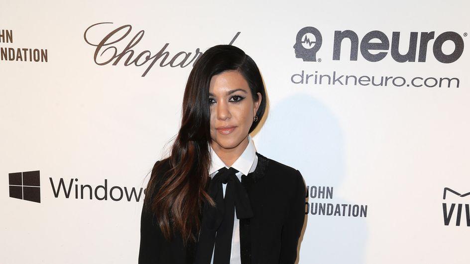 Kourney Kardashian dévoile une nouvelle photo de son fils Reign