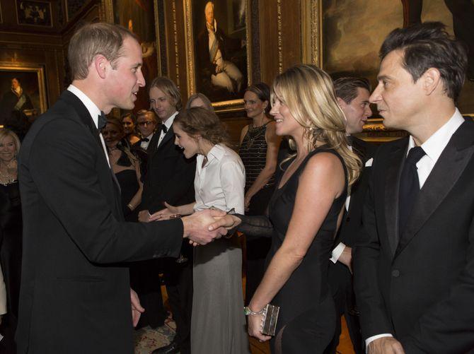 Kate Moss y el Príncipe Guillermo de Inglaterra