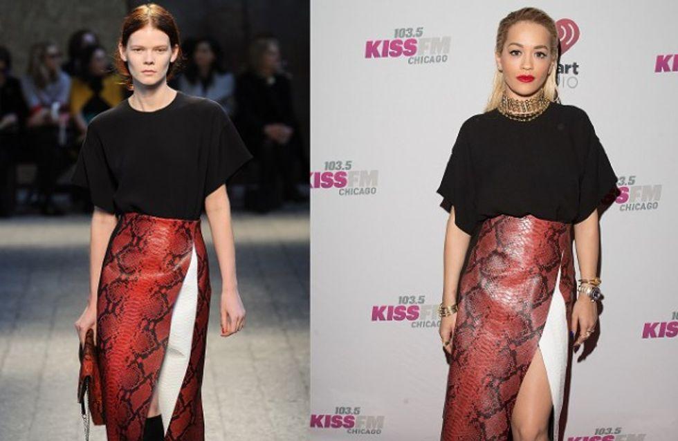 Podium VS Rita Ora : le match de looks