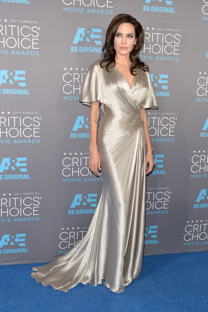 Angelina Jolie, Critics' Choice Awards 2015