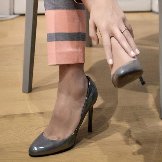Les escarpins Dior de Géraldine Nakache