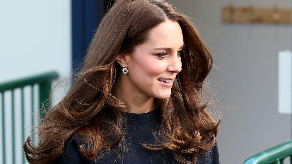 Kate Middleton et son joli baby bump étaient de sortie