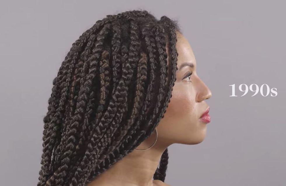 Un siècle de beauté ethnique résumé en une minute (Vidéo)