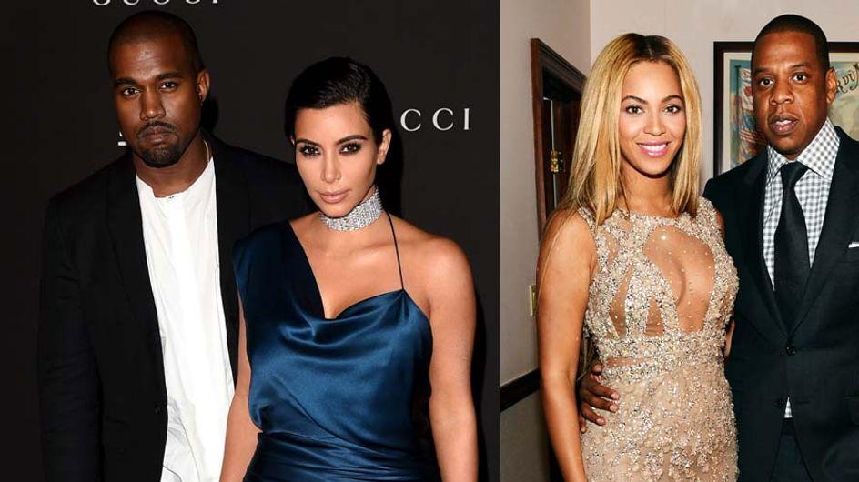 Kim Kardashian et Kanye West en double rendez-vous avec Beyoncé et Jay Z