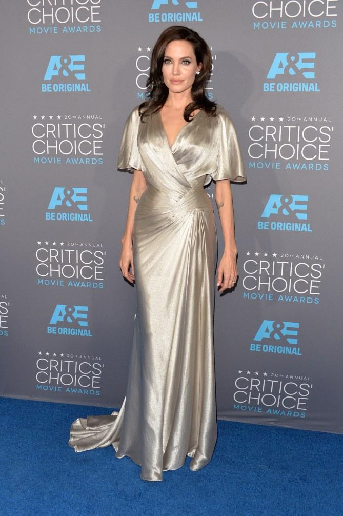 Angelina Jolie aux Critic's Choice Awards.