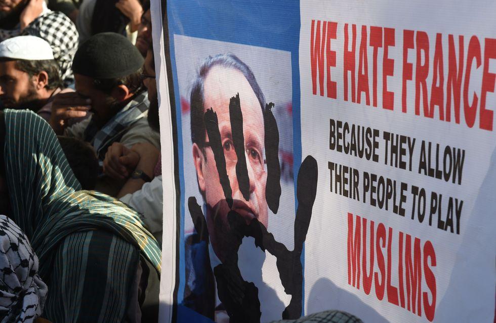 Des manifestations contre Charlie Hebdo dégénèrent dans le monde