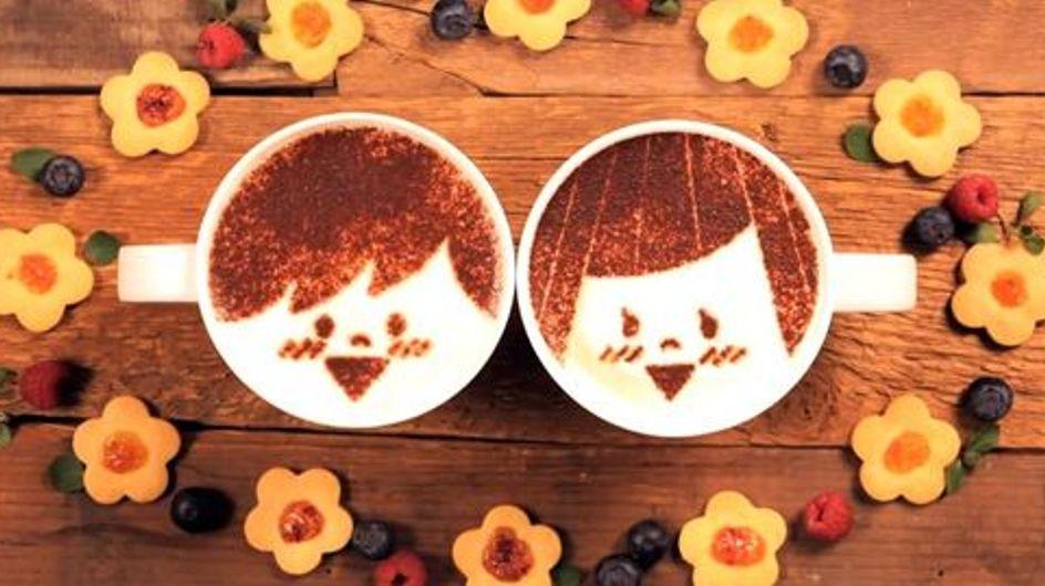 Une histoire d'amour en 1000 tasses de latte