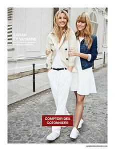 Sarah et Yasmine Lavoine, nouvelle campagne Comptoir des Cotonniers