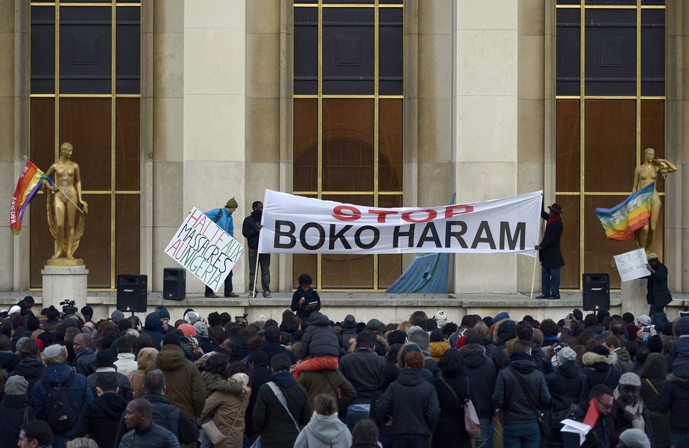 « Je suis Nigérian » : Nouvelle mobilisation à Paris contre Boko Haram