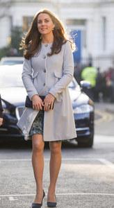 Kate Middleton et son obsession pour les manteaux pastel