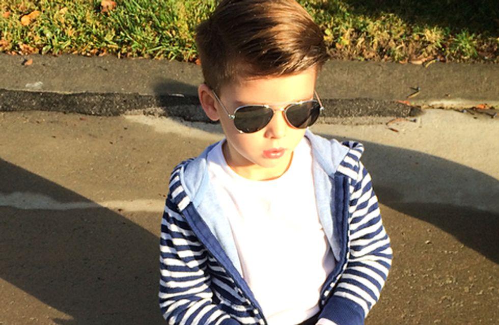Ryker Wixom, el niño que copia a la perfección los looks de los famosos