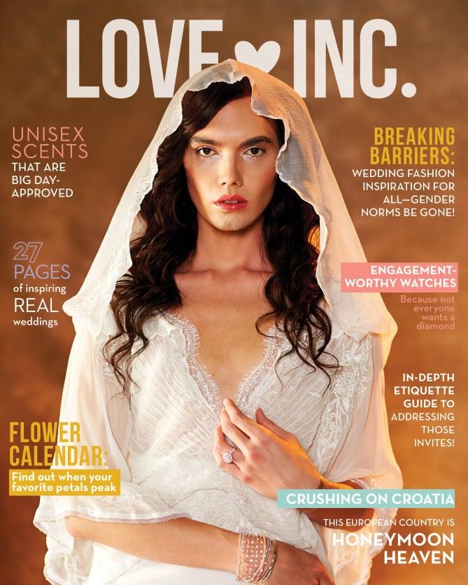 Voici la couverture du Love Inc.