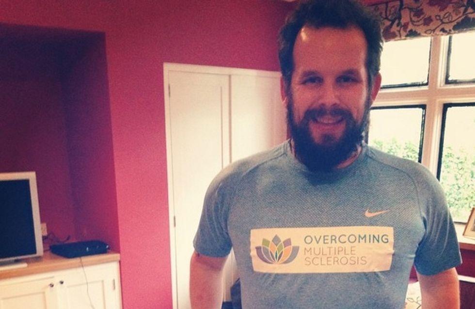 Pour sa femme, il court 7 marathons sur 7 continents en seulement 7 jours