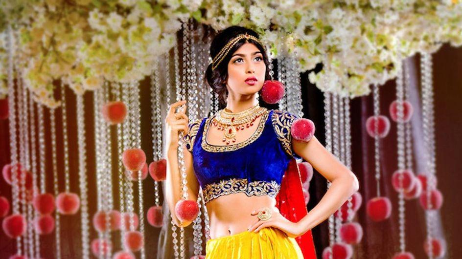 Quand les princesse Disney se transforment en mariées Bollywood