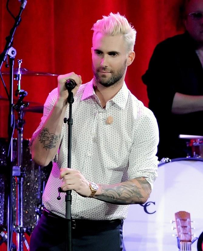 Adam Levine en 2014