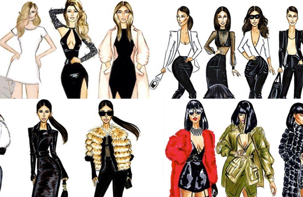 J.LO, Rihanna e Beyoncé in versione fumetto. Le dive disegnate da Jovan Rosario