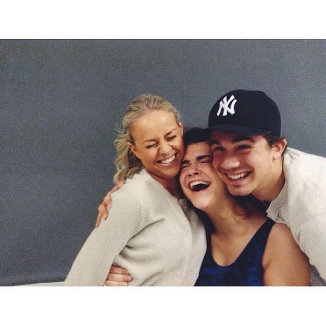 Frida, Anniken et Ludvig